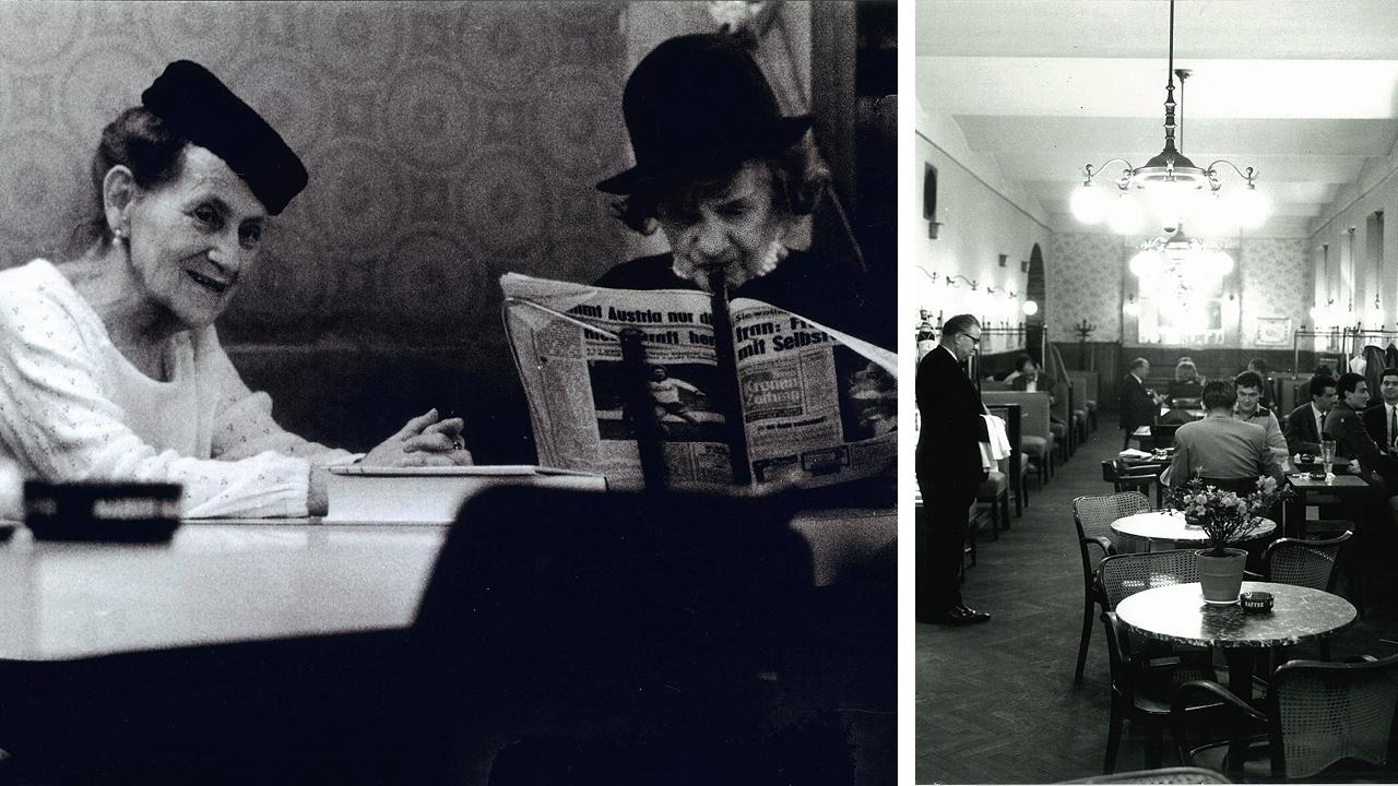 Café Hummel in den 70er Jahren