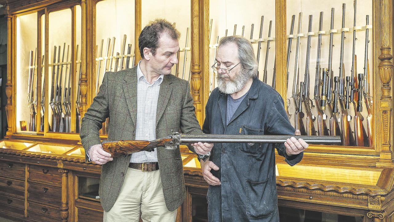 Joh. Springer's Erben steht heute noch als Synonym für gelebte Jagdtradition
