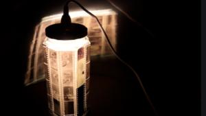 beleuchtete Lampe