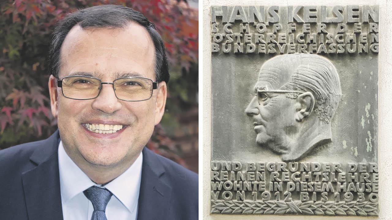 Friedrich Forsthuber, Hans Kelsen