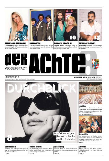 Cover derAchte: Ausgabe 4/2020