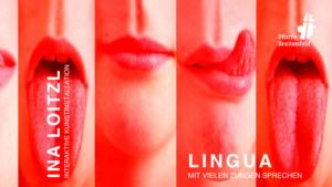 Mund mit Zungen