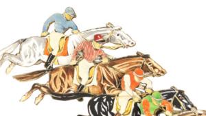 Bild galoppierender Pferde